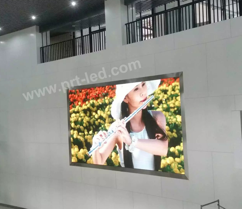 Panel de video LED para pared Super Slim para interior P2.5