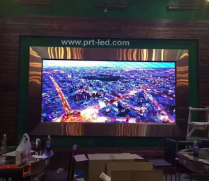 P2.5 Pantalla LED portátil para interiores con panel 480X480mm Fundición a presión