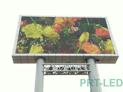 Pared de video LED a todo color impermeable IP65 de P10 para exteriores (SMD3535)